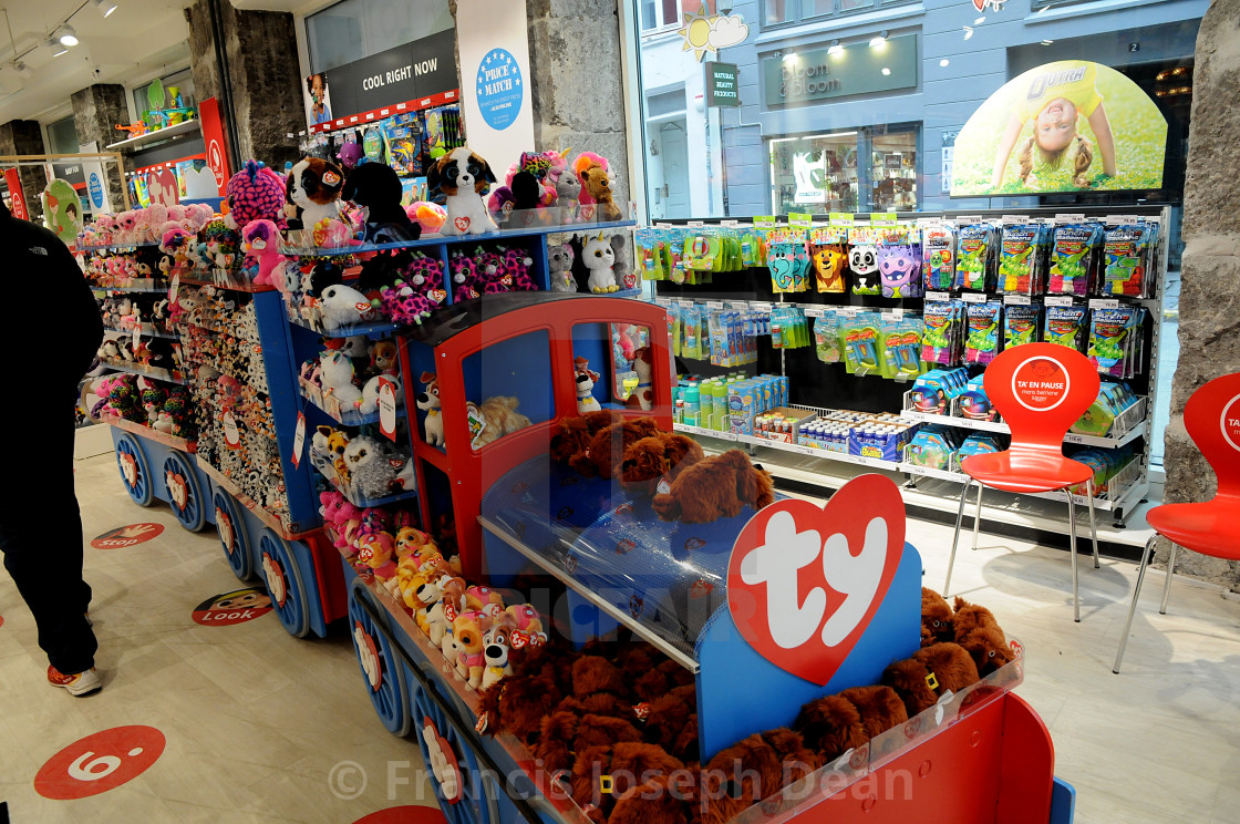 """""""BR TOYS SHOP"""" stock image"""