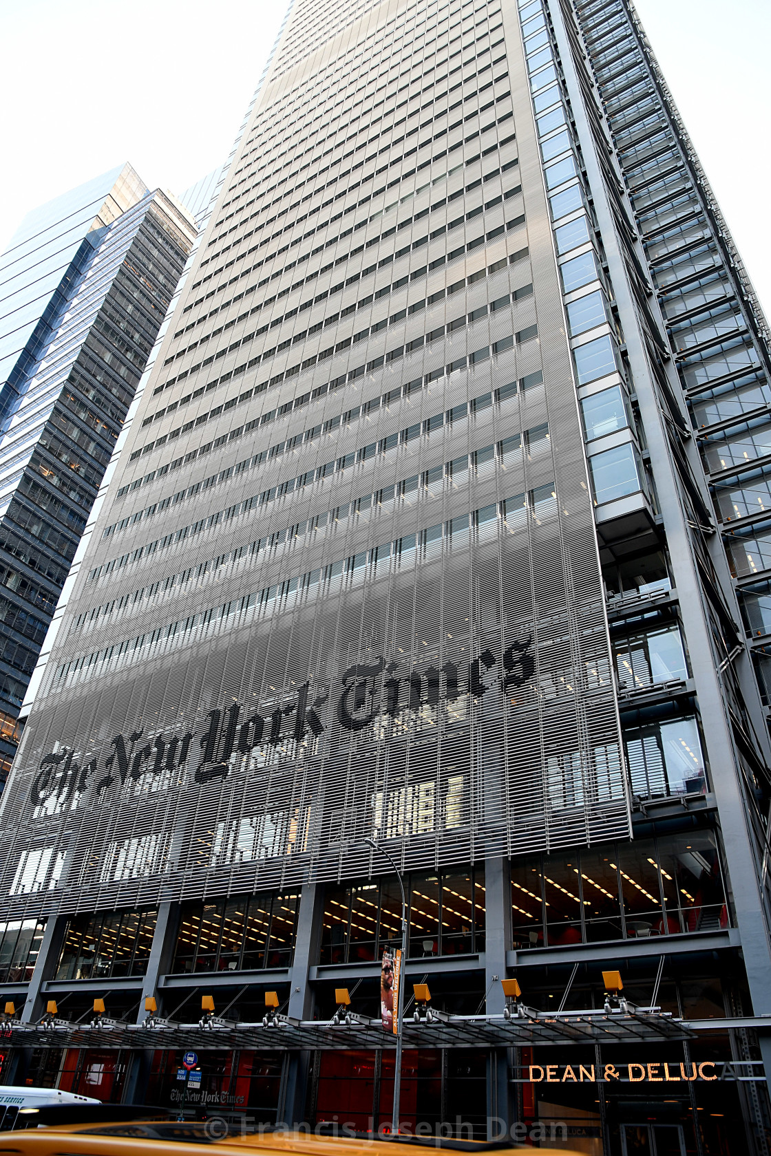 The New York Times Head Office Building License Download Or Print