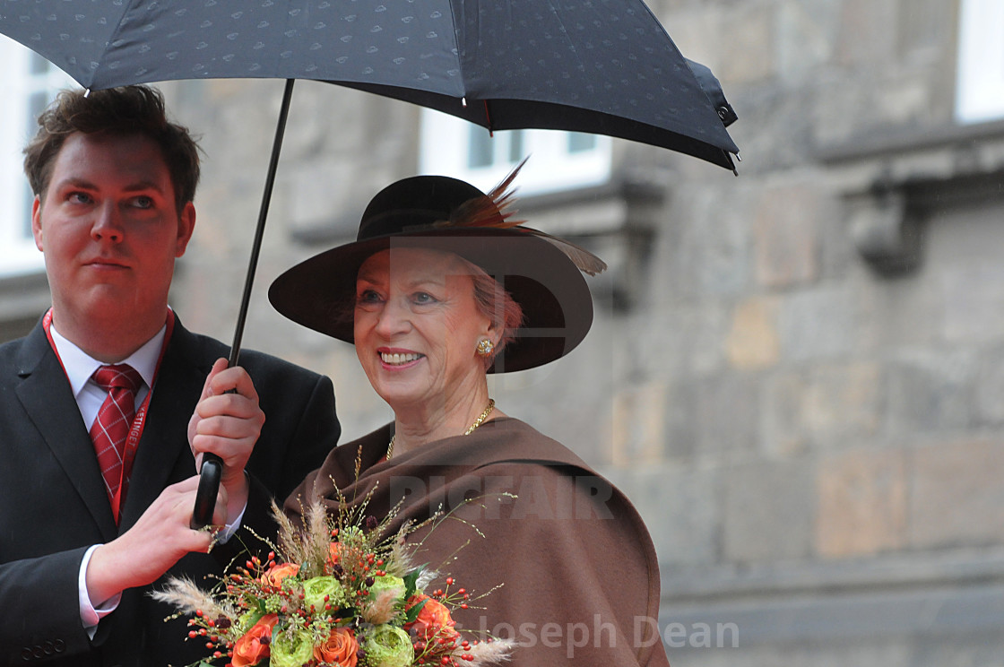 DANISH ROYAL FAMILY ARRIVES AT PARLIAMENT OPENING  - License