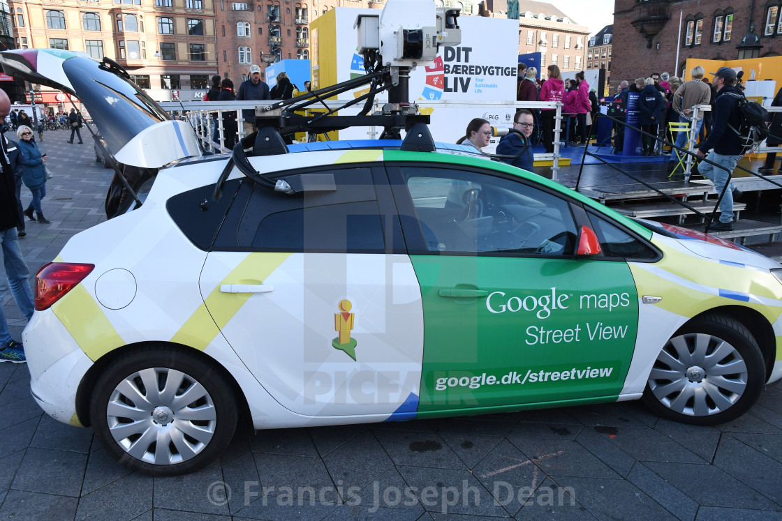 Google Maps Street View Auto In Copenhagen License Download Or