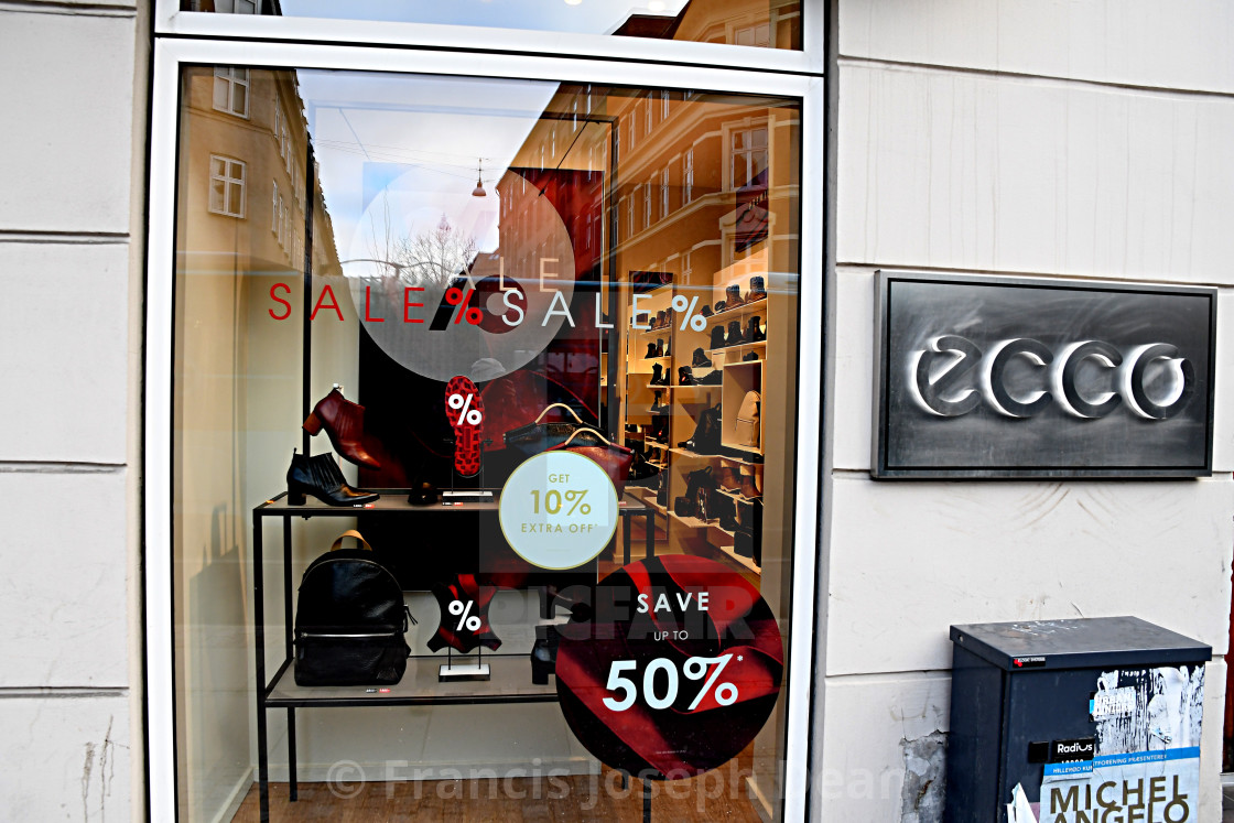 d0ee85d9d57 50% DISOUNT SALE AT ECCO SHOE STORE - License, download or print for ...