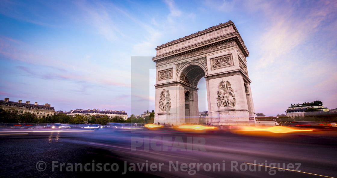 """Paris, capital city of France."" stock image"