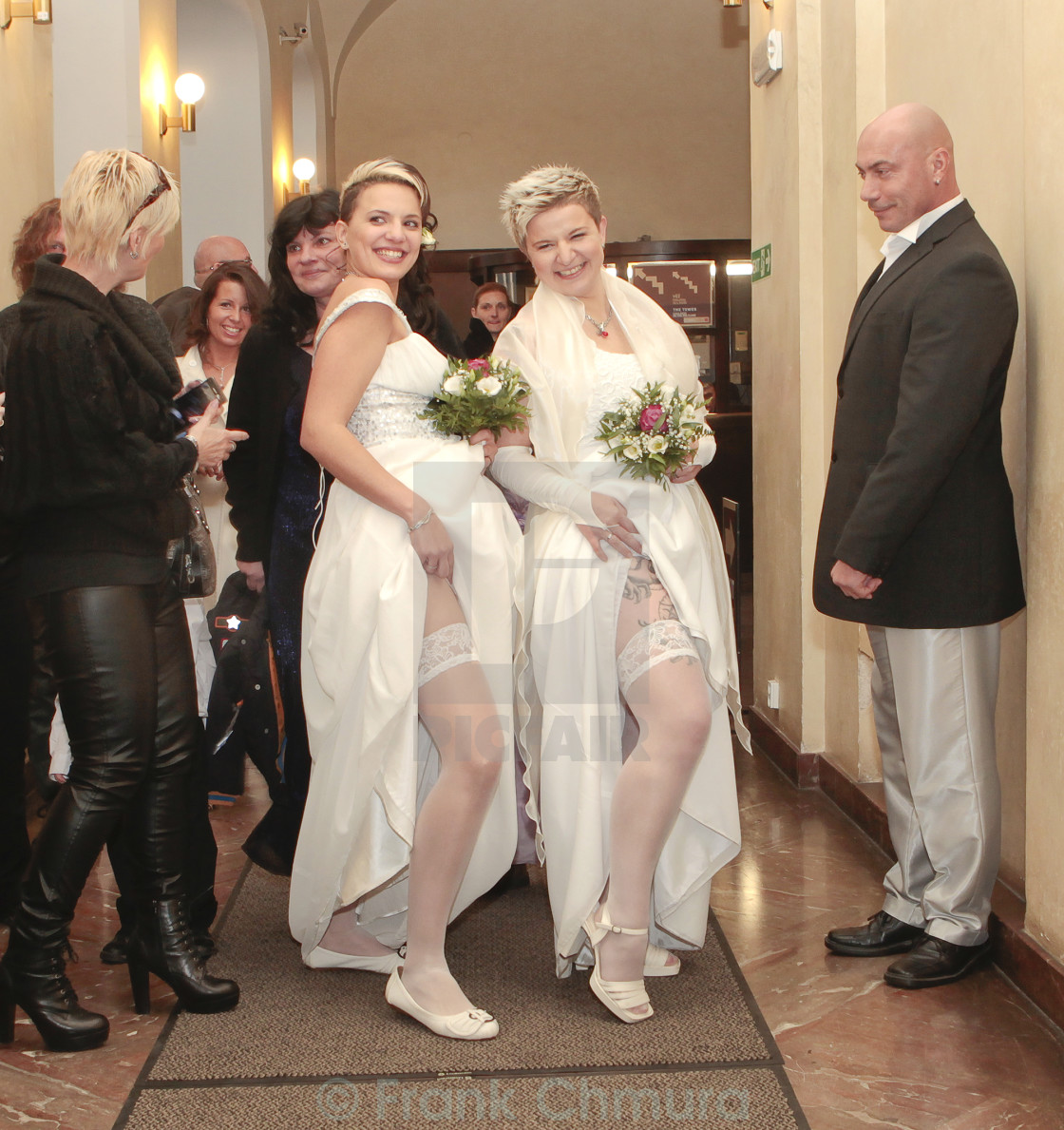 Lesbian Getting Married 110