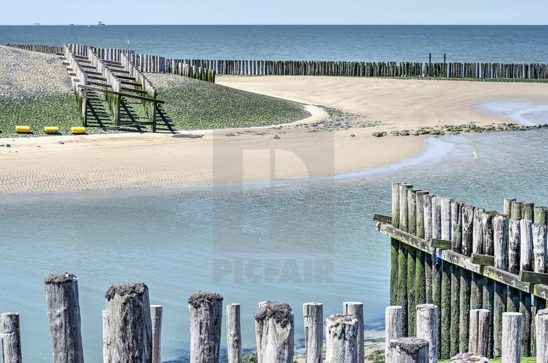 Waterdunen tidal culvert - License, download or print for £12 40