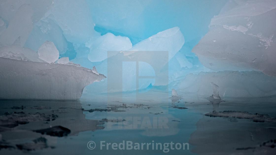 """""""Iceberg Shapes"""" stock image"""