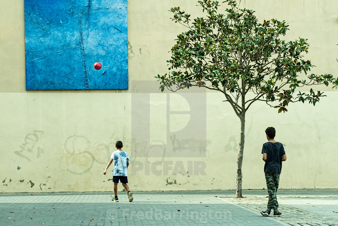 """""""Figueres, Spain"""" stock image"""