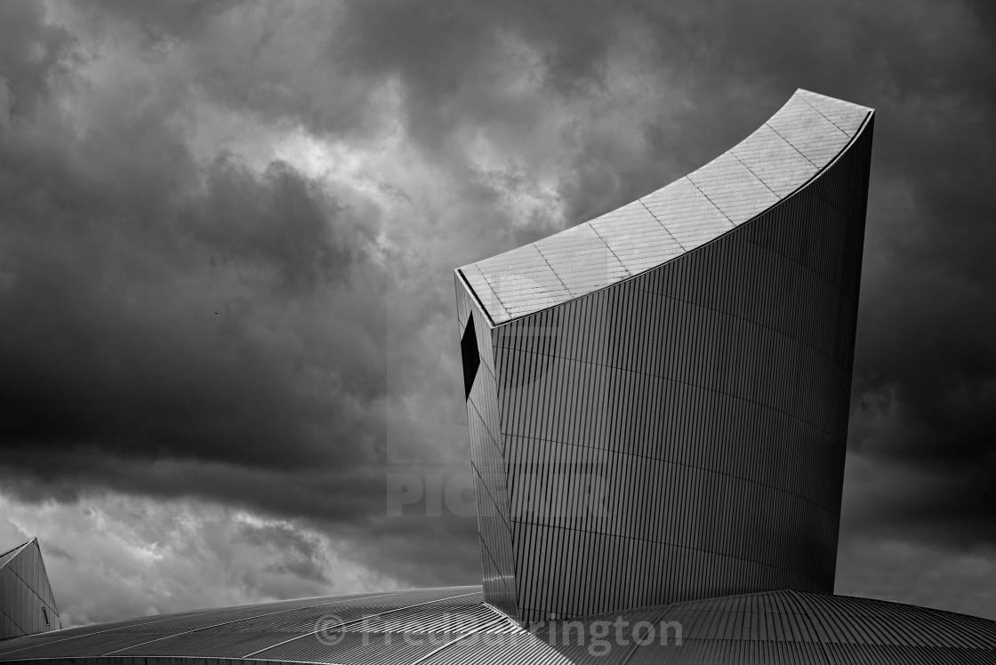 """Imperial War Museum North"" stock image"