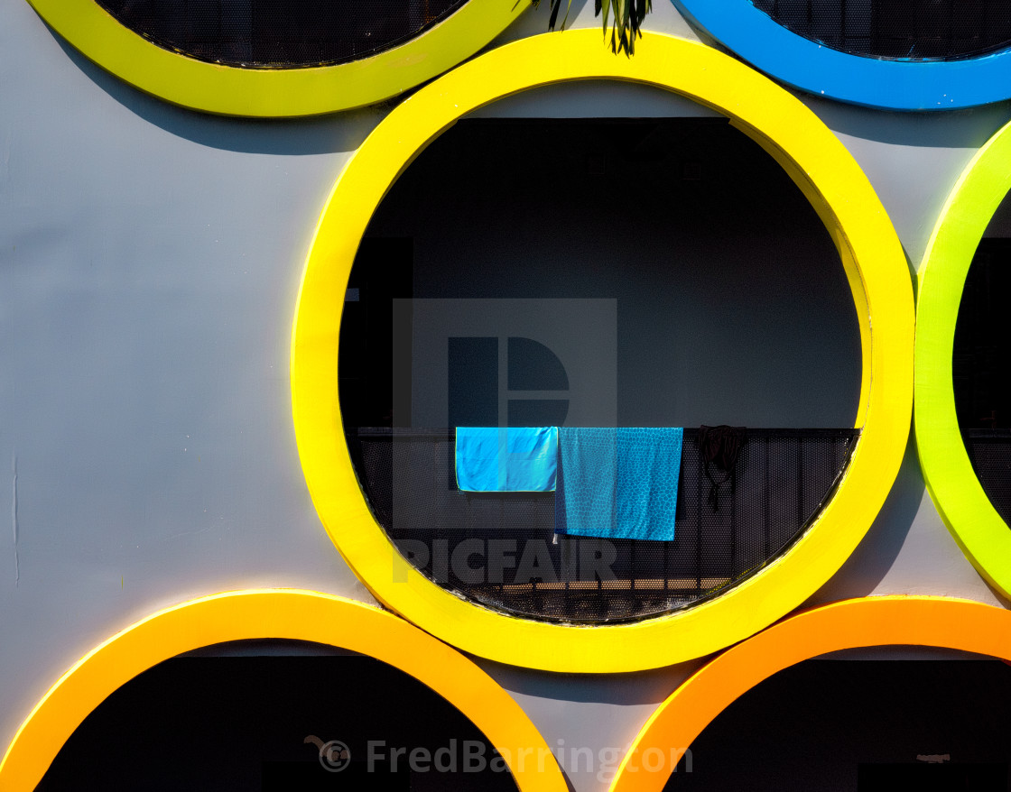 """""""Colours and Shapes, Siem Reap"""" stock image"""