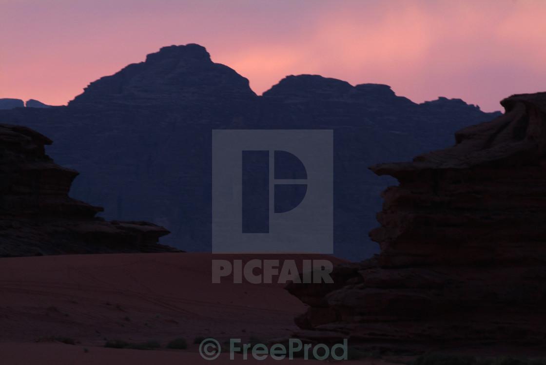 """""""Wadi Rum-Jordan"""" stock image"""