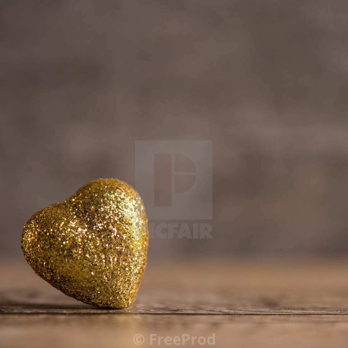 """Love hearts on wooden texture background for Valentines Day Background"" stock image"