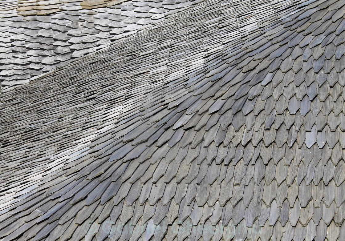 """old roof"" stock image"