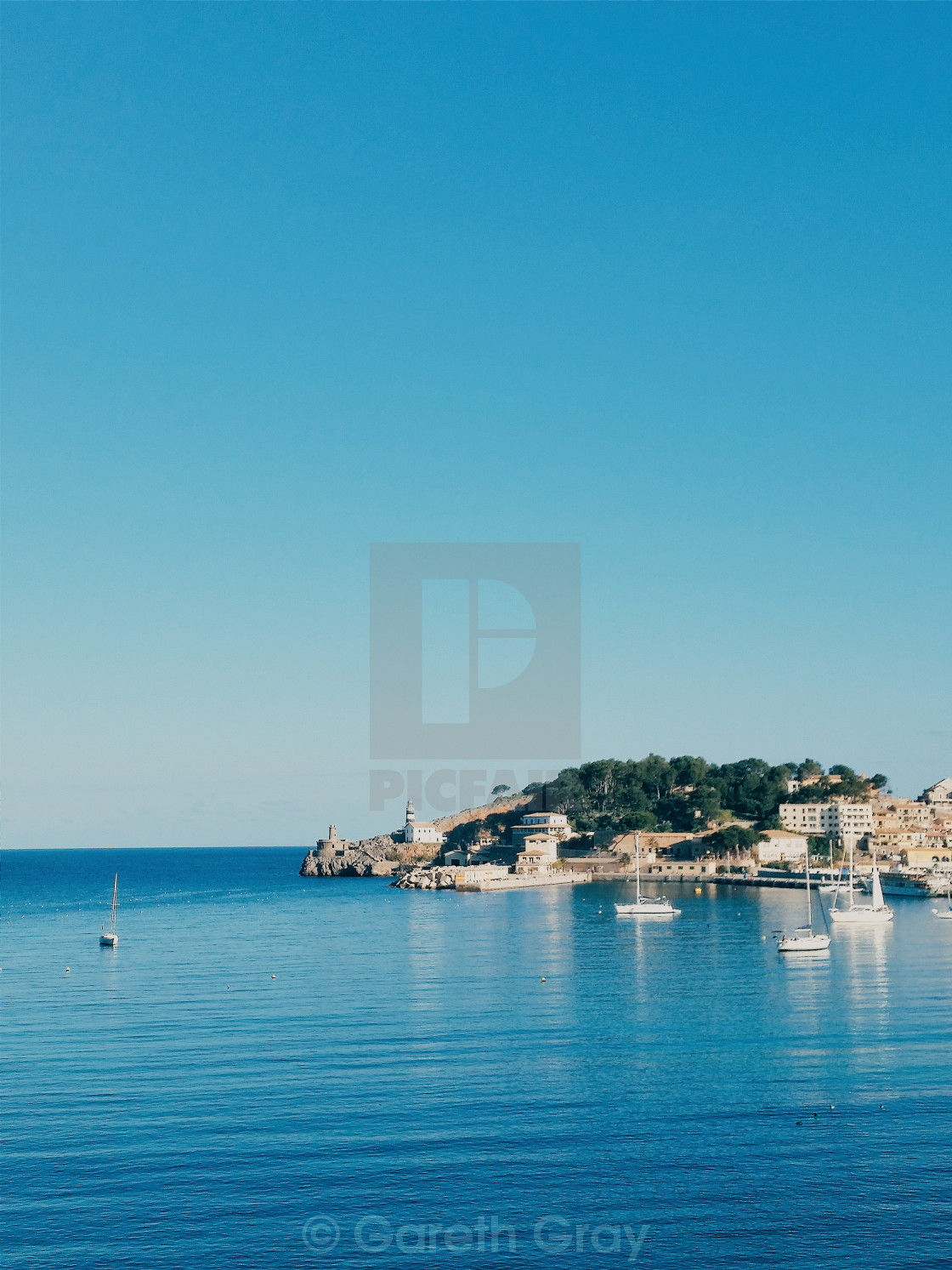 """Soller Bay"" stock image"