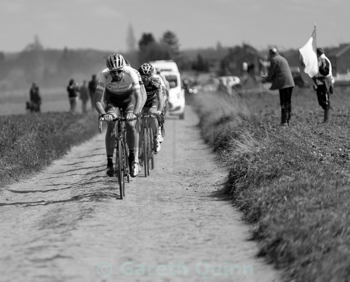 """Paris Roubaix 2016"" stock image"