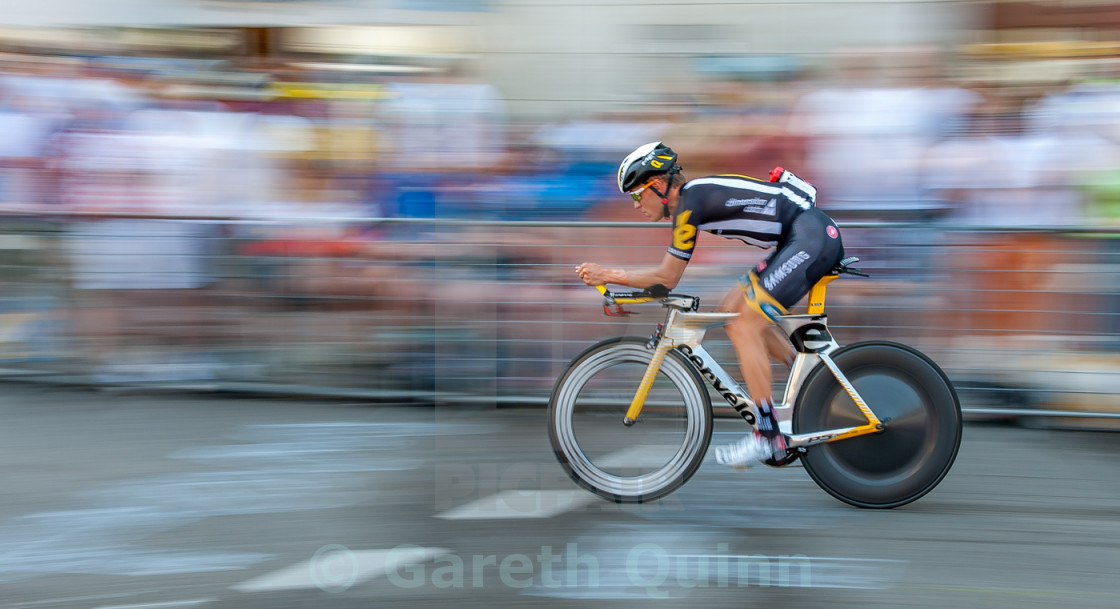 """Tour de France Prologue 2015"" stock image"