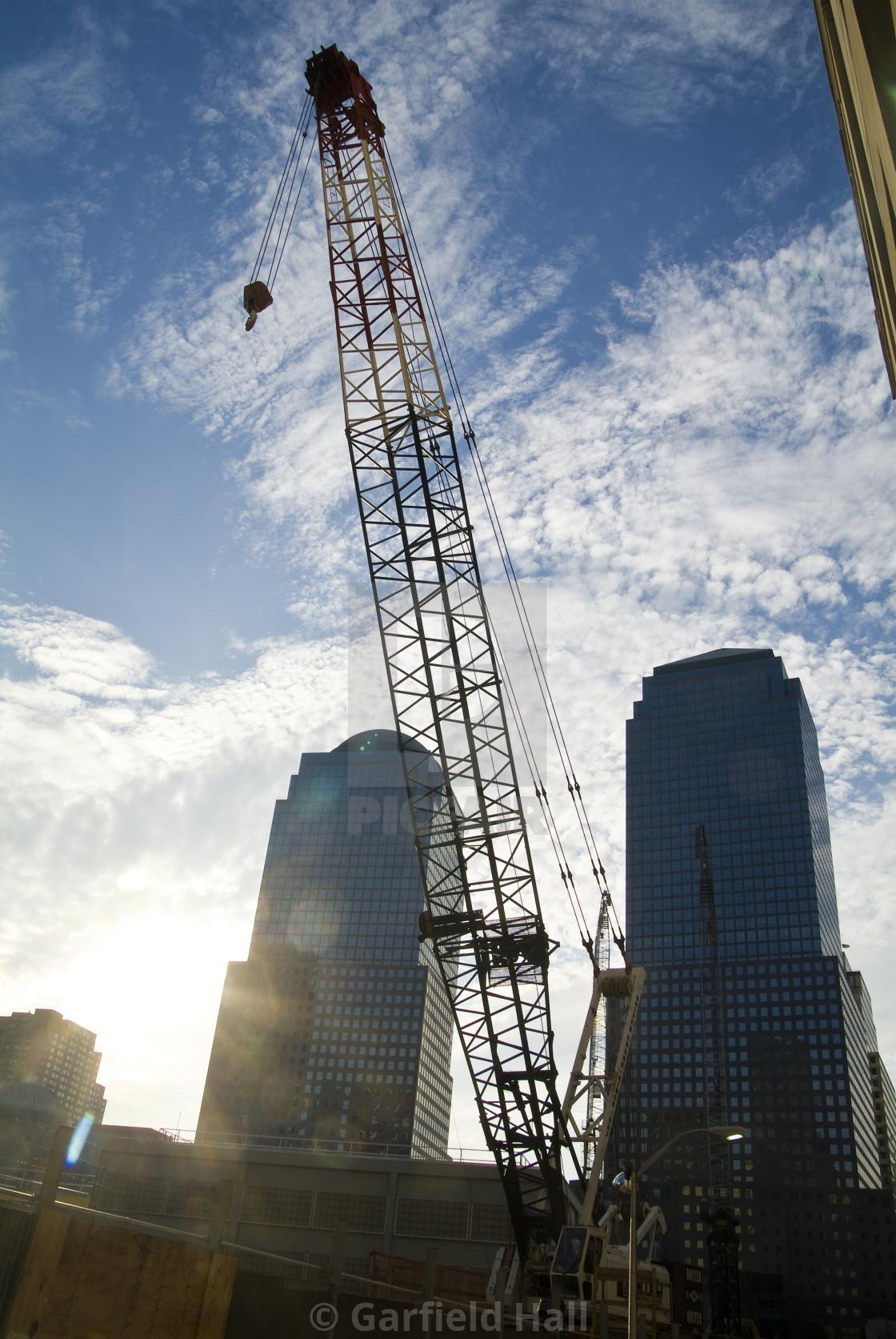 """Construction Cranes"" stock image"