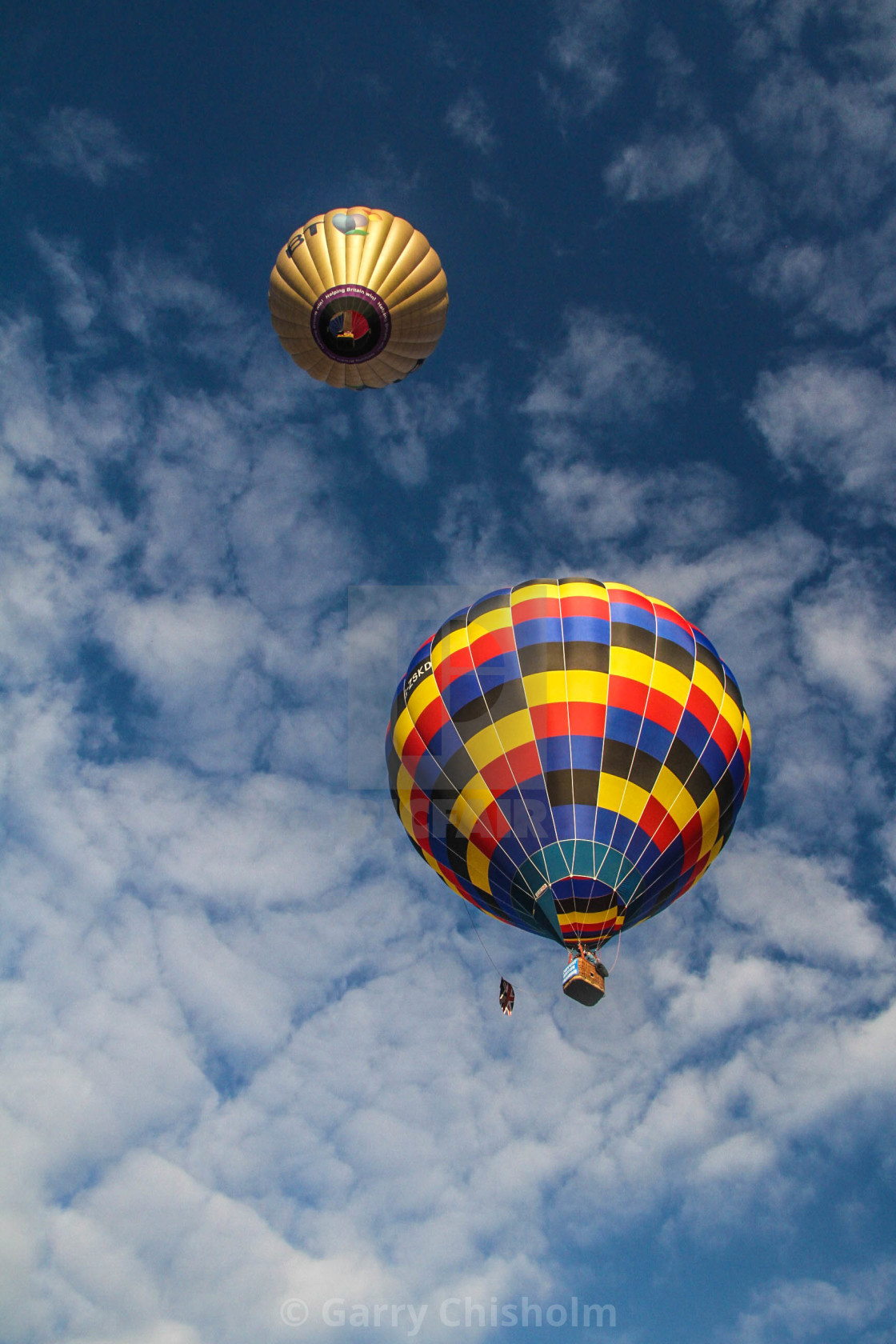 """""""Up, up and away"""" stock image"""