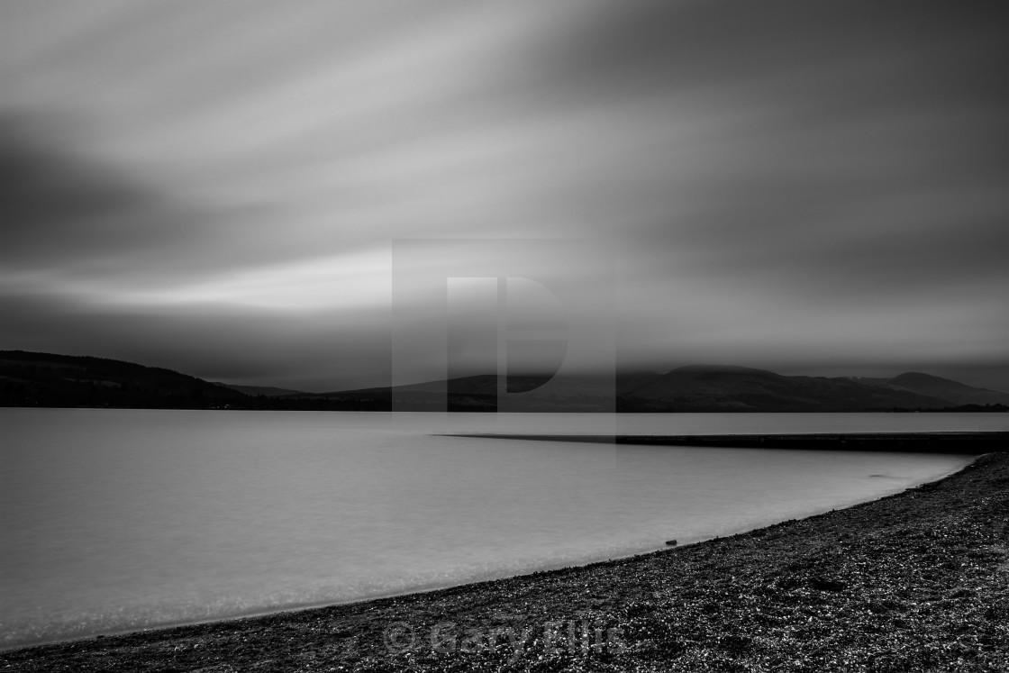 """Loch Lomond Stack"" stock image"