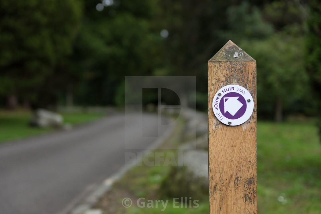 """Nature Trail"" stock image"