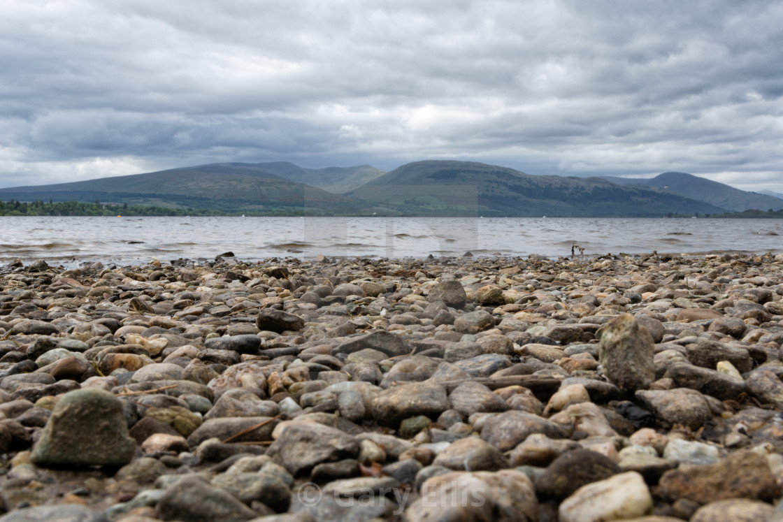 """Banks of Loch Lomond"" stock image"