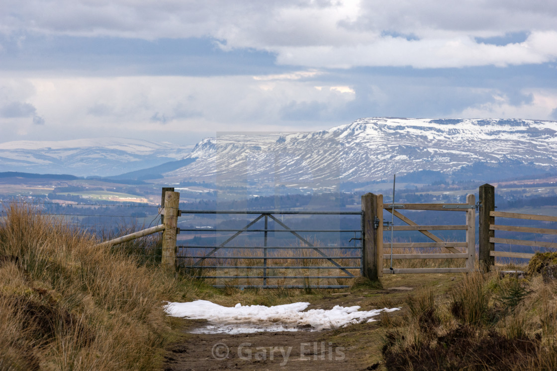"""Gateway to the Highlands"" stock image"