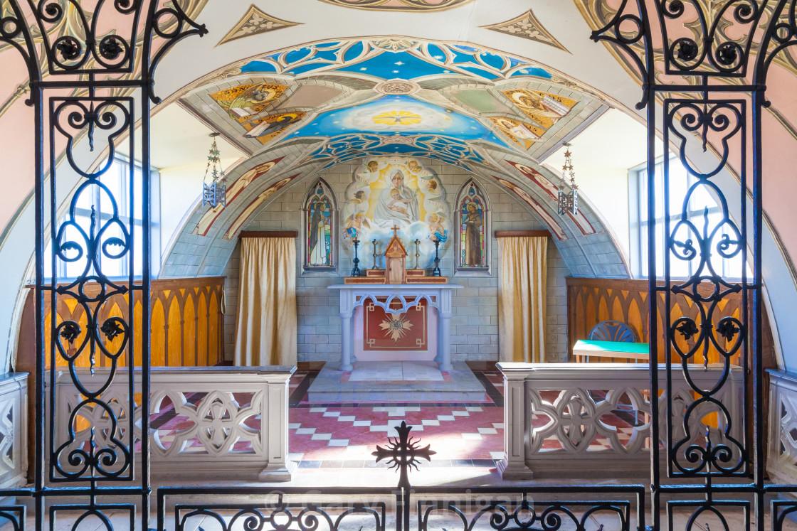 """The Italian Chapel"" stock image"