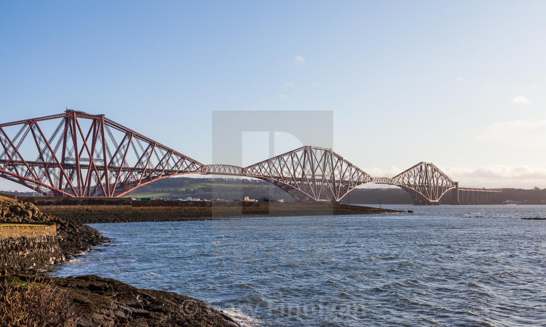 """Forth Rail bridge"" stock image"
