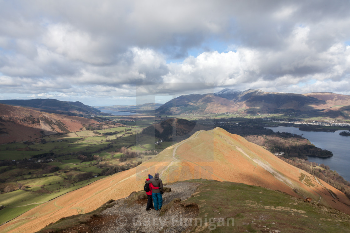 """Skiddaw View"" stock image"