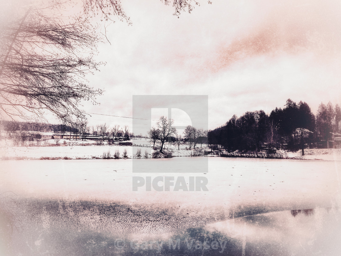 """Winter of Despair"" stock image"