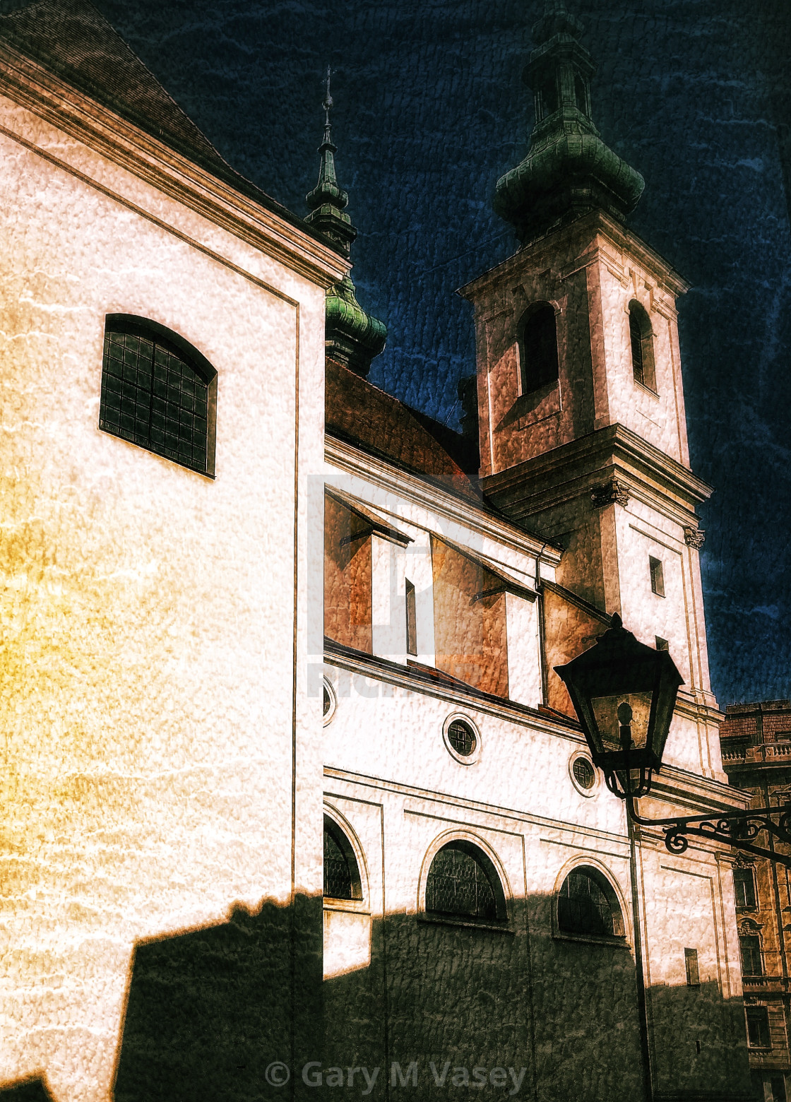 """Brno Church"" stock image"