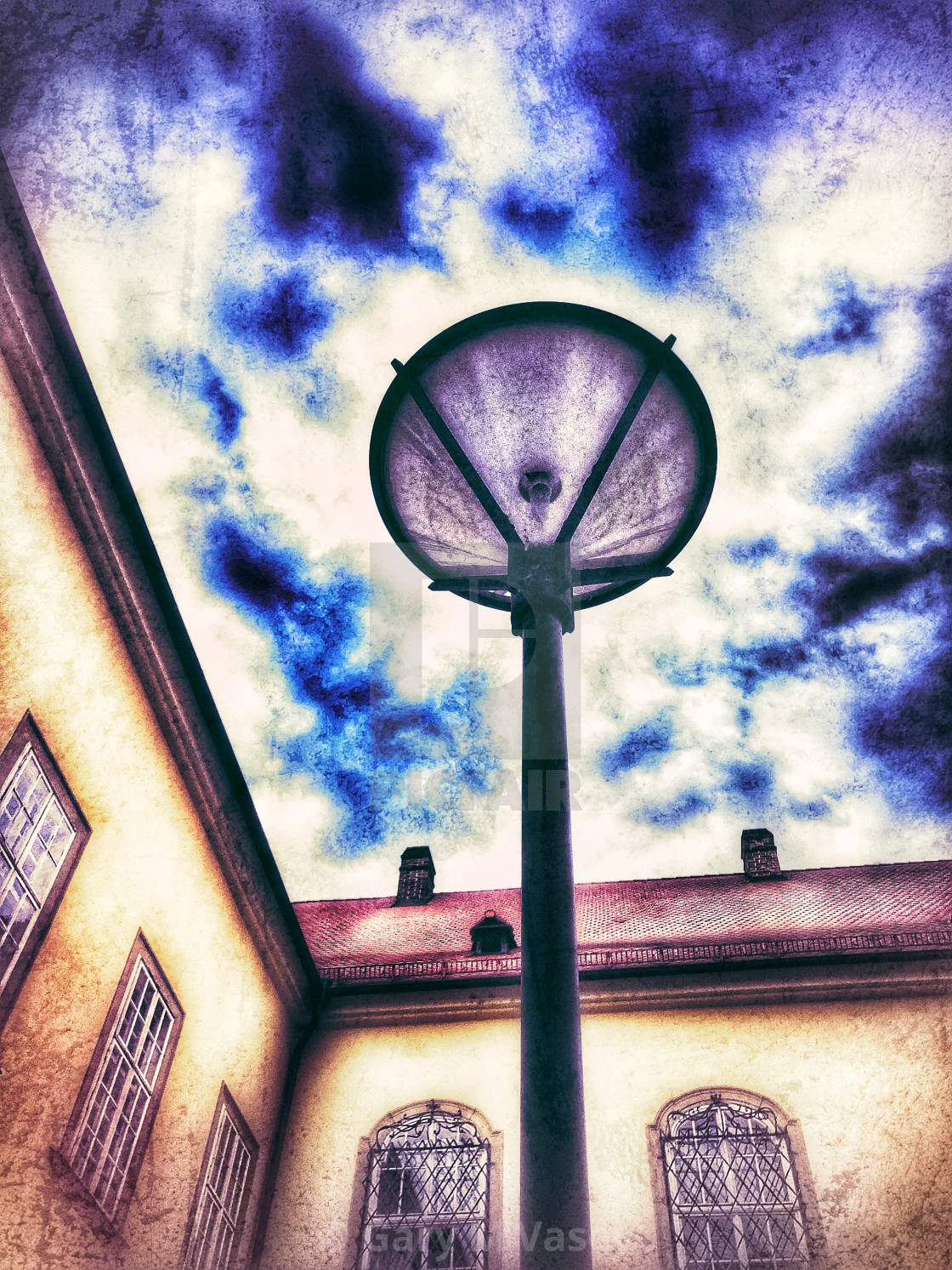 """Streetlight in Brno"" stock image"