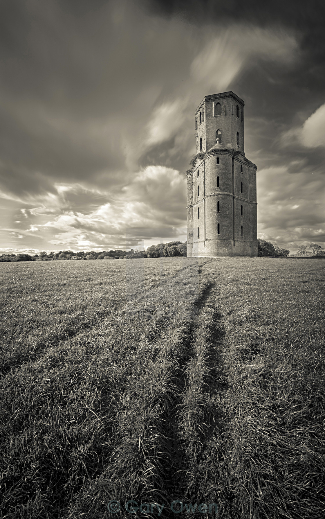 """Horton Folly"" stock image"