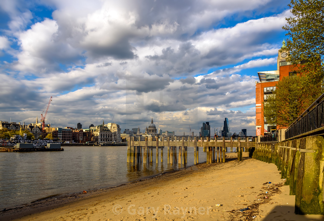 London at Low Tide