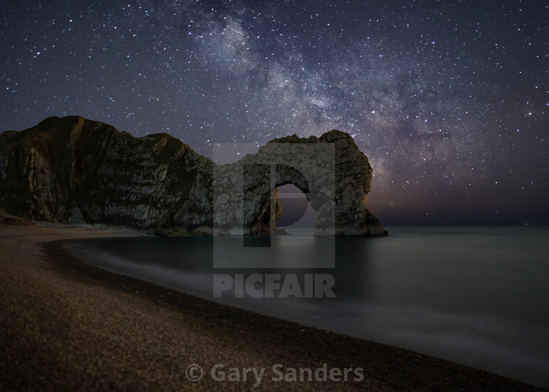 """Durdle Door Mark II"" stock image"