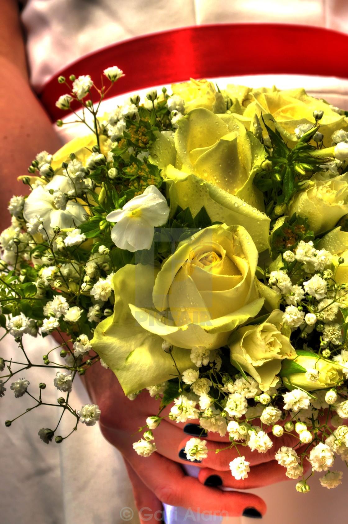 """Wedding Flower"" stock image"