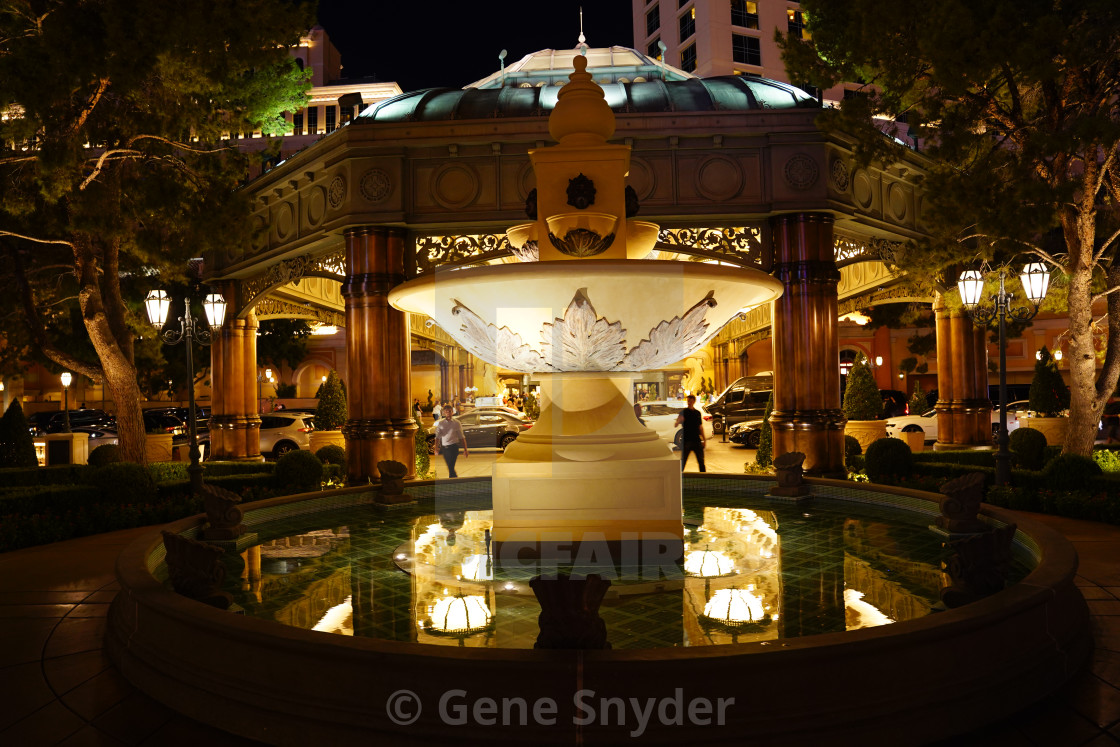 """""""front of Bellagio"""" stock image"""