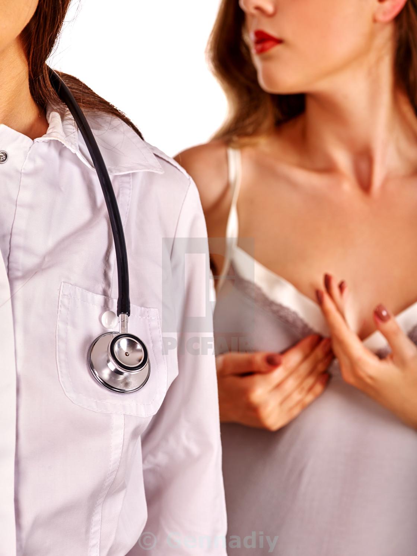 Stethoscope breasts bra