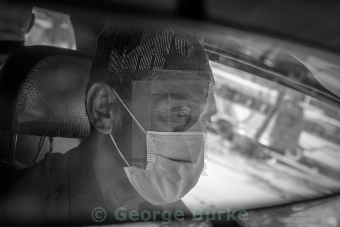 """Taxi Driver"" stock image"