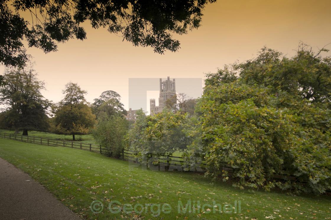 """""""Ely Cathedral, Cambridgeshire, UK"""" stock image"""