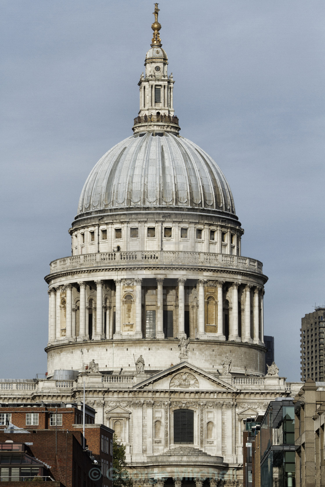 """""""St. Pauls Cathedral, London"""" stock image"""