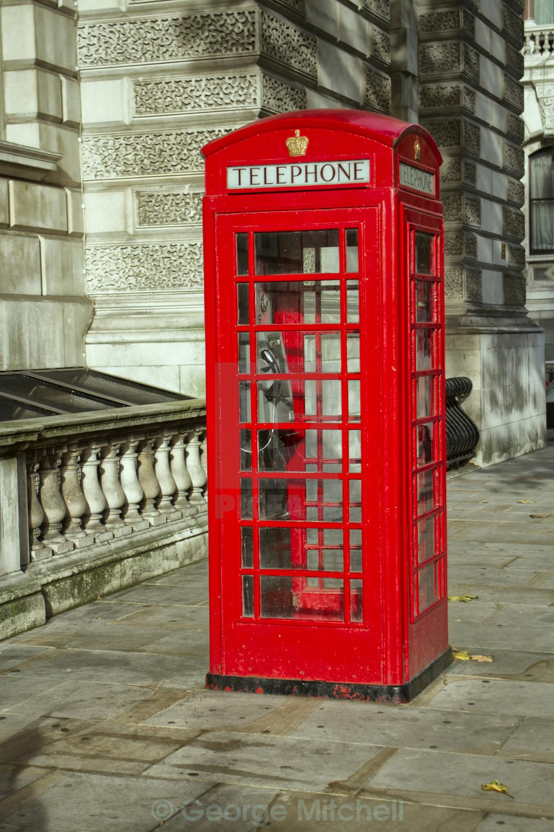 """London Telephone Box"" stock image"