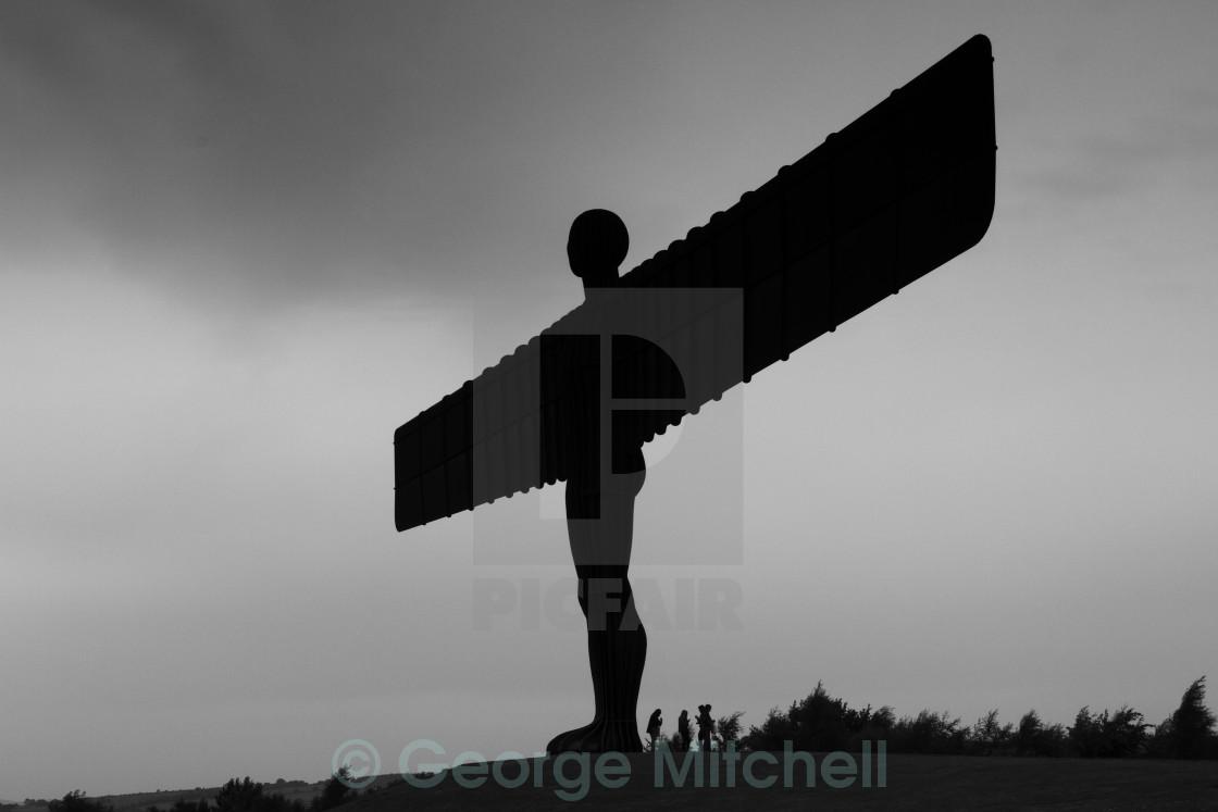 """The Angel of The North, Tyne and Wear, Northumberland, United Ki"" stock image"