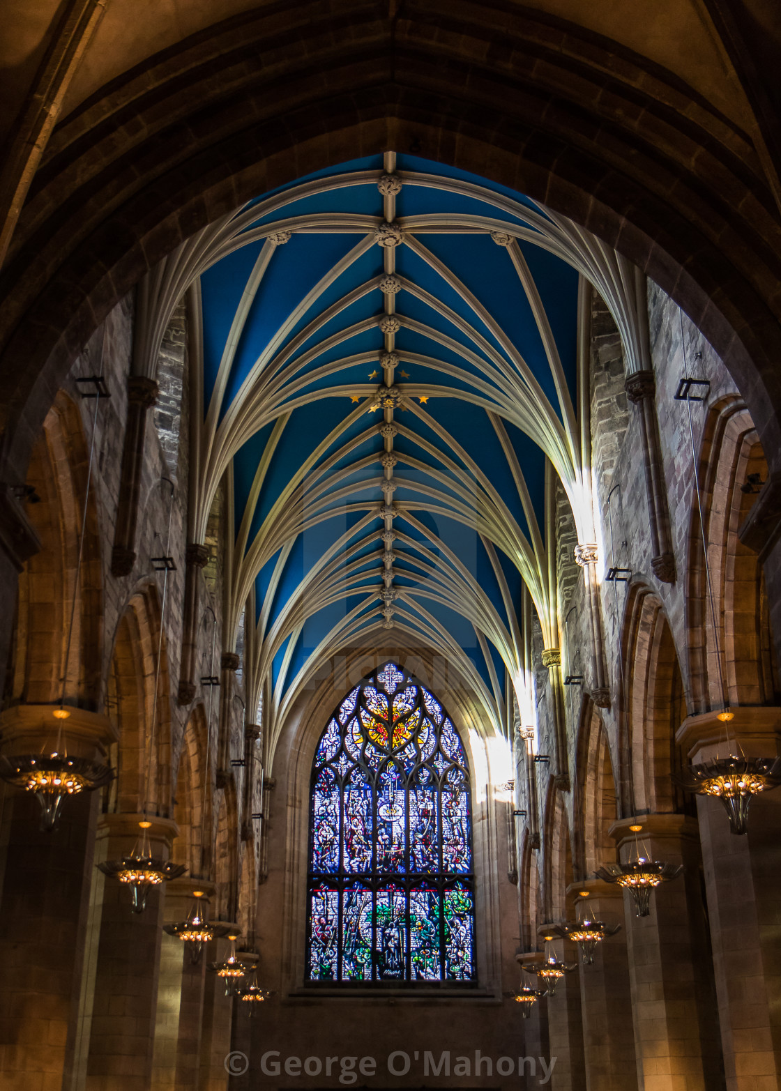 """Saint Giles Cathedral"" stock image"