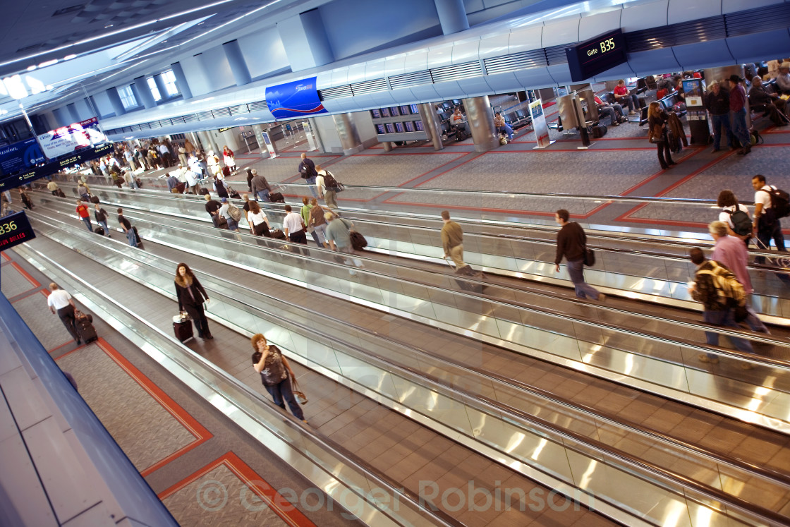 """Denver International Airport"" stock image"
