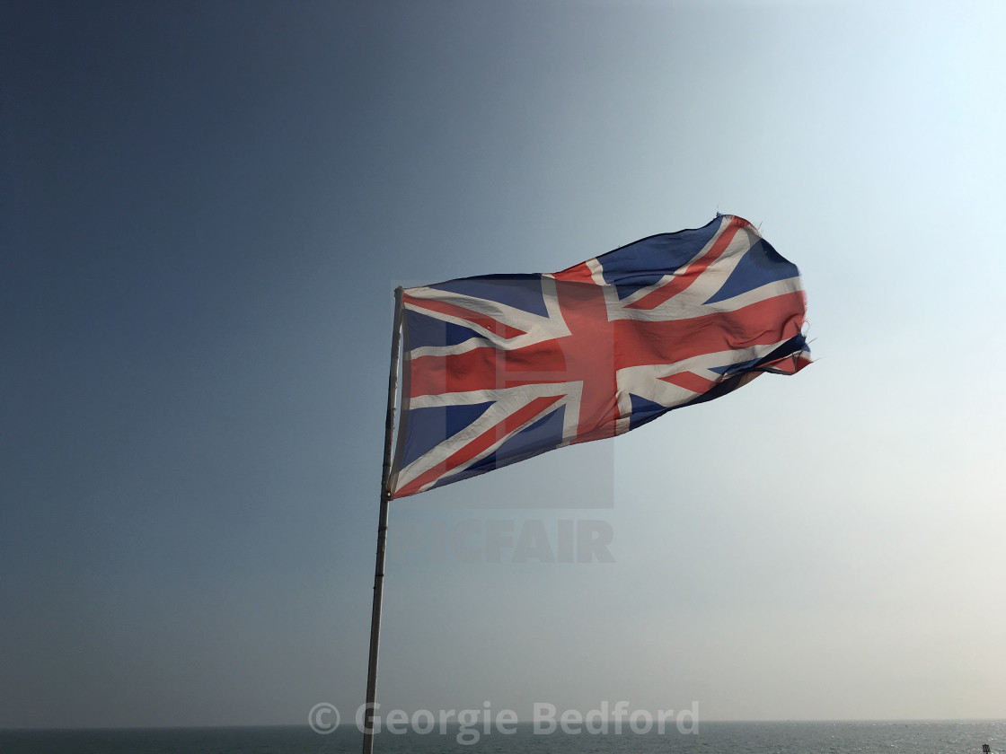 """The Union Jack"" stock image"