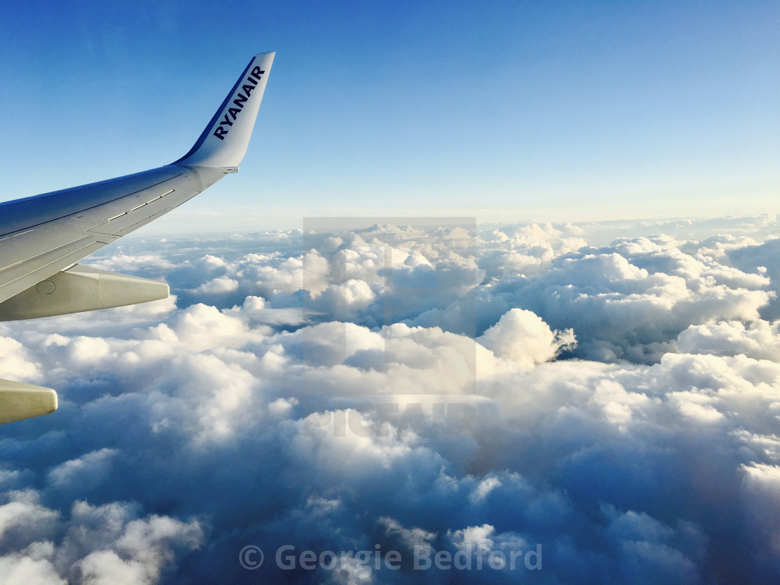 """Ryanair flight"" stock image"