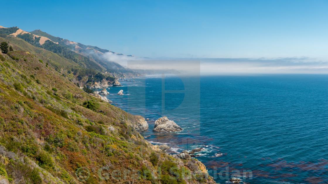 """Big Sur Coastline"" stock image"