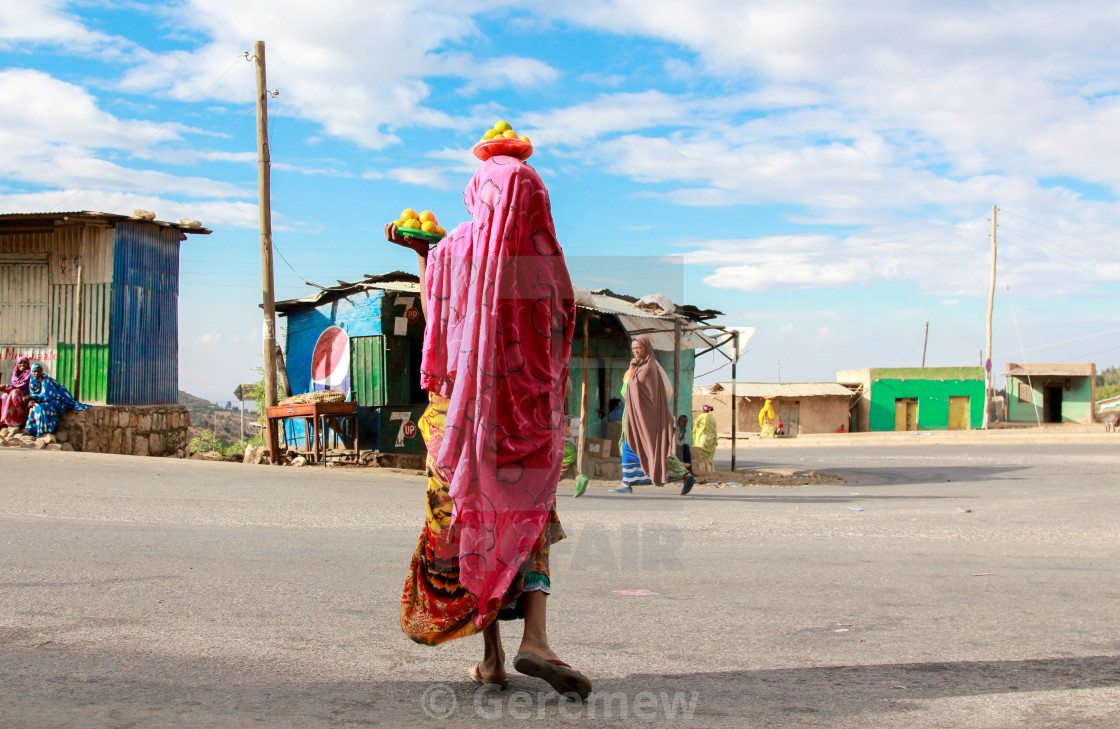 """Colors of Harar"" stock image"