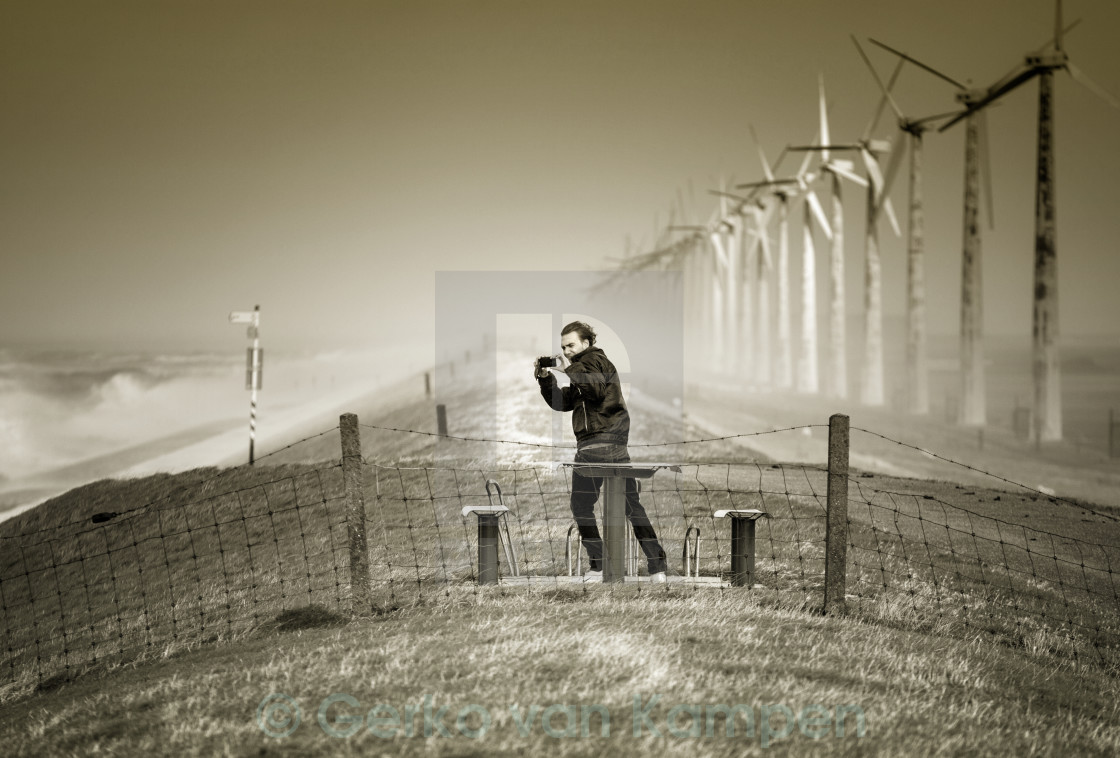 """Catch the Wind"" stock image"