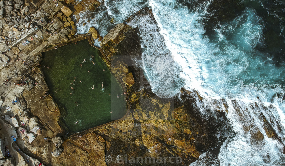 """MAHON POOL"" stock image"