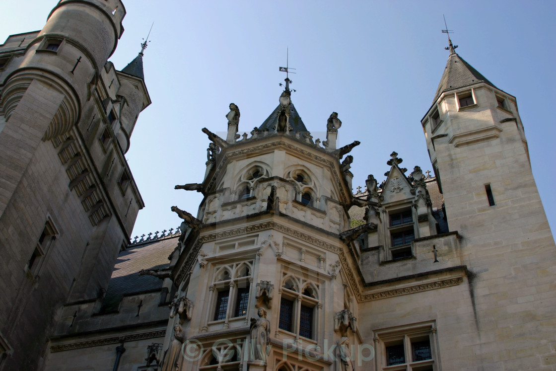 Pierrefonds Castle, Picardy - License, download or print for